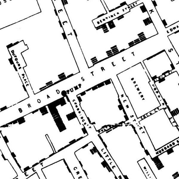 The John Snow Cholera Map