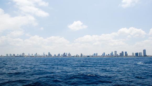Tel Aviv from sea